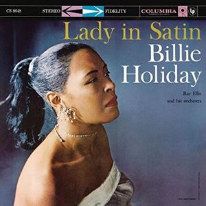 Изображение  Billie Holiday With Ray Ellis And His Orchestra ‎– Lady In Satin
